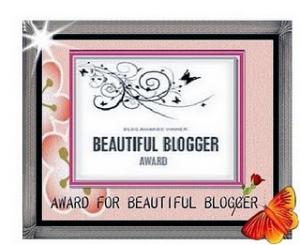 AWARD - 2013 - beautifulbloggerawardnancy