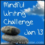 LOGO - Mindful Writing Challenge Jan 2013