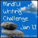 LOGO - Mindful Writing Challenge Jan 2013