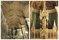 Our Lady's Chapel - side chapel. It is in the Italian style and was designed by Tiffany & Company of New York.