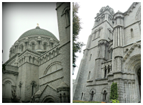 The structure of the church itself is stunning—a pastiche of Gothic, Medieval and Renaissance architecture