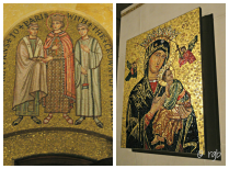 The cathedral is best known for its amazing mosaic collection (41 million pieces); it took 76 years to complete the mosaic work.