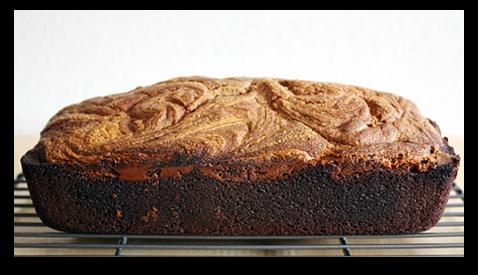 Chocolate - Peanut Butter Swirl Bread