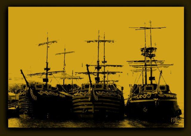 Split Tone - Boats - Unicolor - Ethan