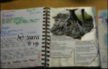 Art Journal - 2-3-14 (Day 24)