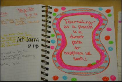 Art Journal - 2-5-14 (Day 26)