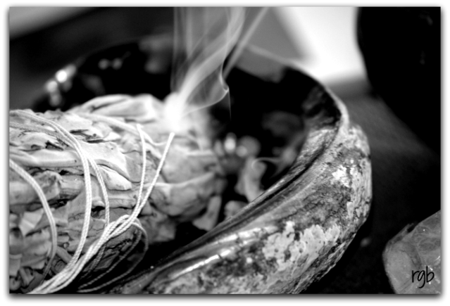 Burning Sage for the New Year