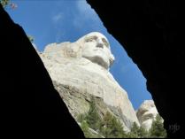 Bird's Eye View Mt Rushmore, SD