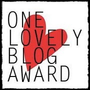 AWARD - onelovelyblogaward