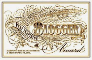 AWARD - very-inspiring-blogger-award
