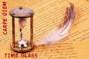 LOGO - Carpe Diem - Time Glass