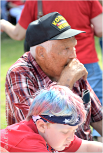 Korean Veteran and the youngest generation