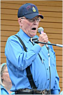 WWII Veteran, poet and singer